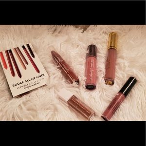 Lot of Nude lipgloss and lipstick all Full size